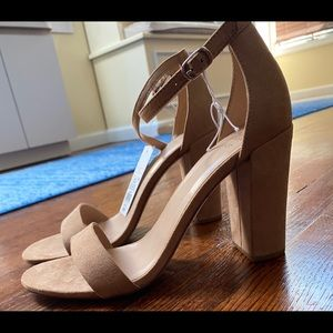 A New Day Nude Block Heels